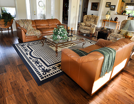 Living spaces by Barron's Abbey Flooring & Design in Sutter Creek, California